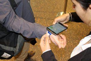 צמיד זיהוי NFC